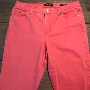 Nine West Cropped Style Coral Jeans 🔅 size 10